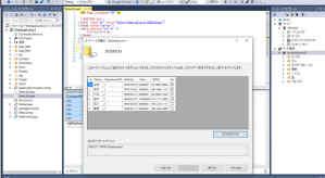 Visual Studio データベース作成