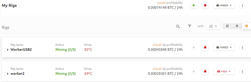 仮想通貨マイニング グラボ高温