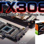 RTX3080サーマルパッド交換